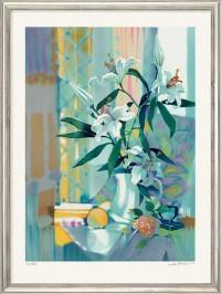 "Sylvie Riclet: Limitierter Kunstdruck ""Bouquet"" (1999)"