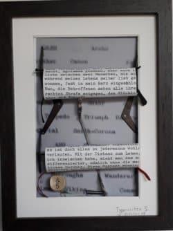 Type-ART - Kunst mit  der Schreibmaschine