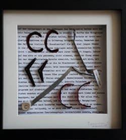 Type-ART - C wie copy - zum 150-jährigen Jubiläum der Schreibmaschine